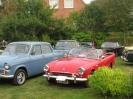 Engelske veteranbiler på besøg 2013